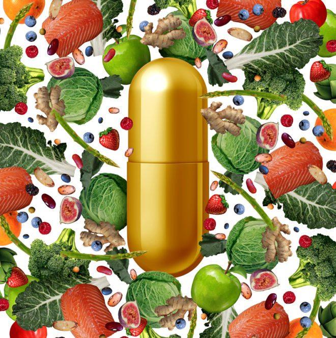 Vitaminas necessárias para evitar algumas doenças do frio.©Skypixel|Dreamstime.com