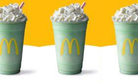 McDonald's celebra 50 anos de shake especial para o St. Patrick's Day