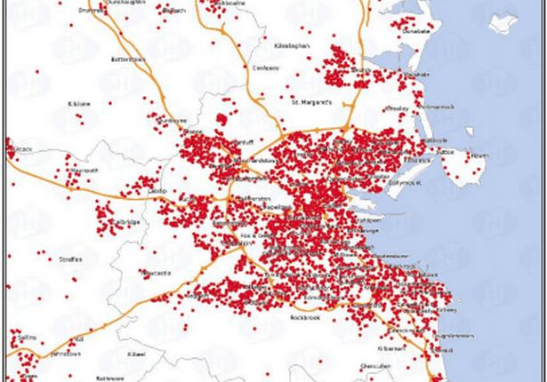 Irlanda divulga mapas de contágio pelo coronavírus