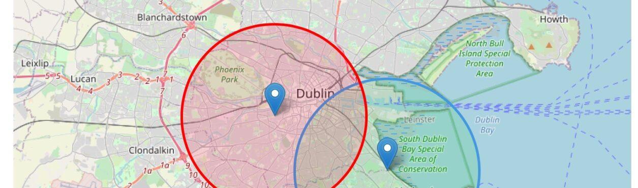 Site irlandês mostra área comum para encontros durante restrições de locomoção