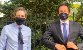 Irlanda cria campanha para incentivar o uso de máscara