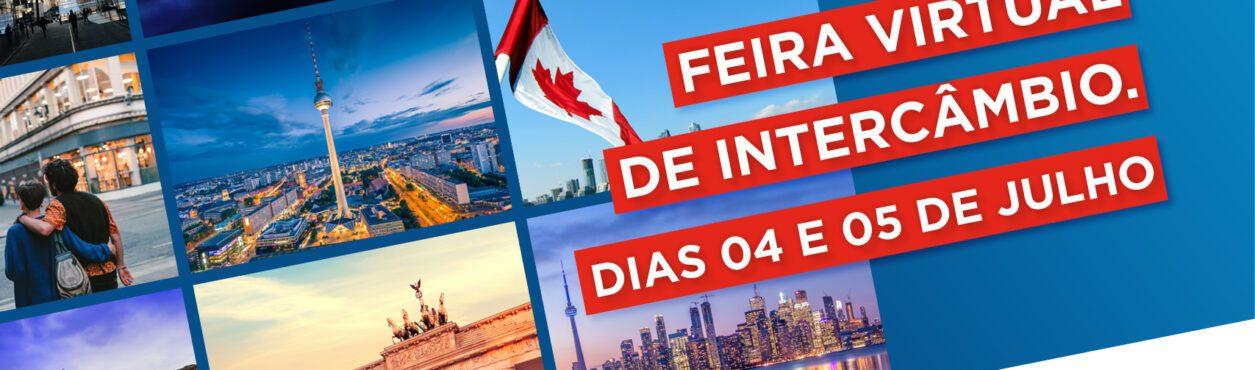 Feira de Intercâmbio Virtual gratuita acontece em julho