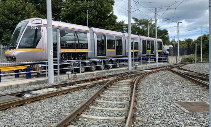 Luas: Dublin recebe novos modelos de trens urbanos