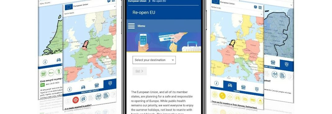 Covid-19: União Europeia lança mapa de restrições de viagem