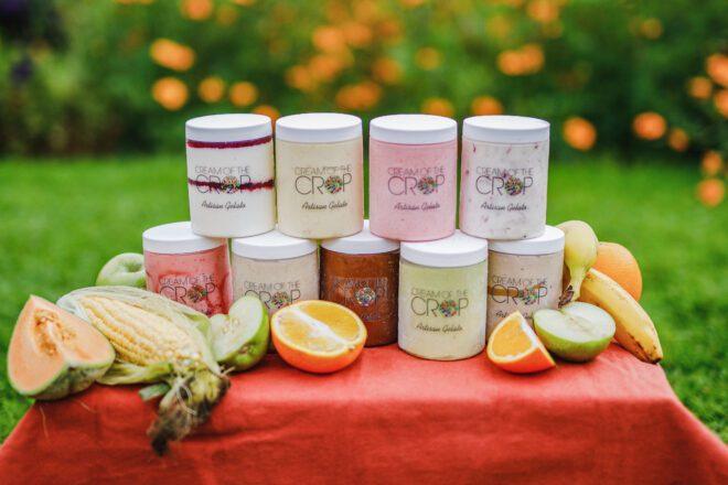 Cream of the Crop é o nome da marca de sorvetes de Giselle Makinde