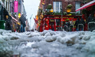 Irlanda terá temperaturas de até -4ºC a partir desta sexta